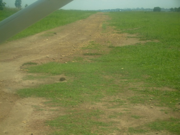 The runway in Kajo Keji