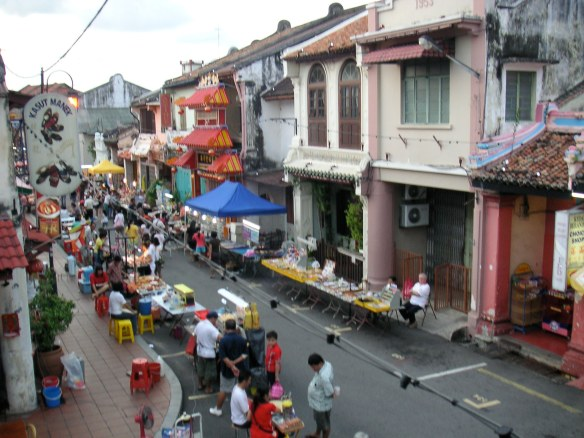 And Melacca's Chinatown
