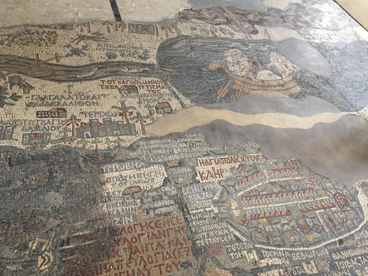 Mount Nebu, Madaba, and Amman